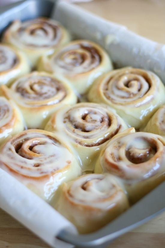 recept cinnamon rolls