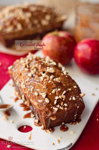 Caramel Apple Crumb Bread