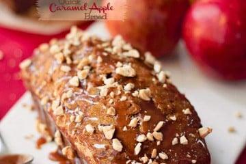 Caramel Apple Crumb Bread