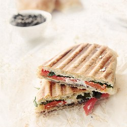 Turkey Panini Sandwich