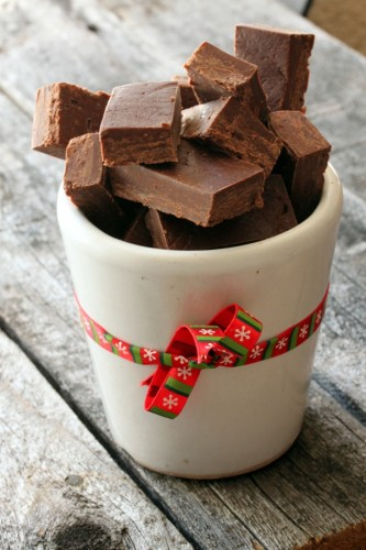 Christmas Chocolate Fudge