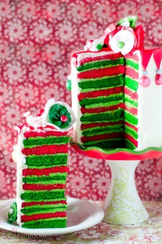 Christmas Layered Cake