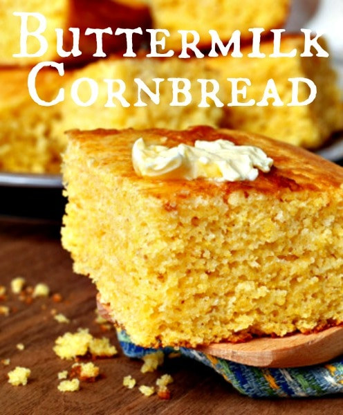 Homemade Buttermilk Cornbread Swanky Recipes