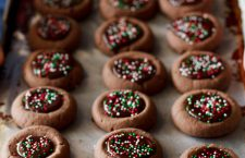 Easy Chocolate Thumbprint Cookies