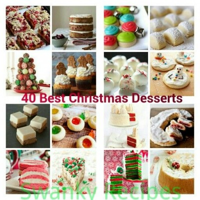 40 Best Christmas Dessert Recipes - Swanky Recipes