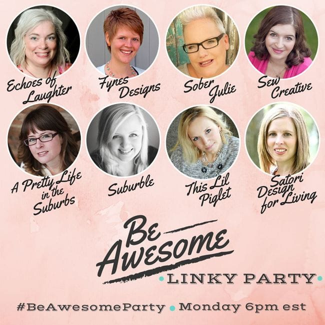 Be Awesome Monday Link Party