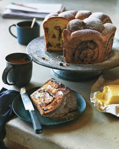 Chocolate Breakfast Bread - Chocolate Kugelhopf