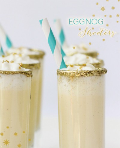 Holiday Eggnog Shooters