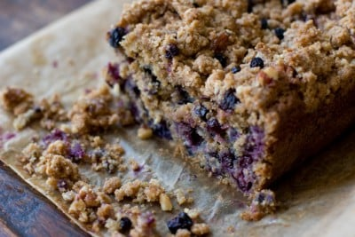 Maple Blueberry Coffee Cake