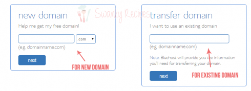 domain bluehost