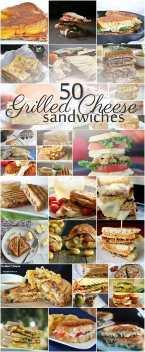 50 Amazing Grilled Cheese Sandwiches