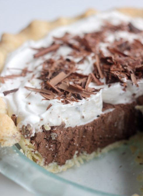 French Silk Pie 1