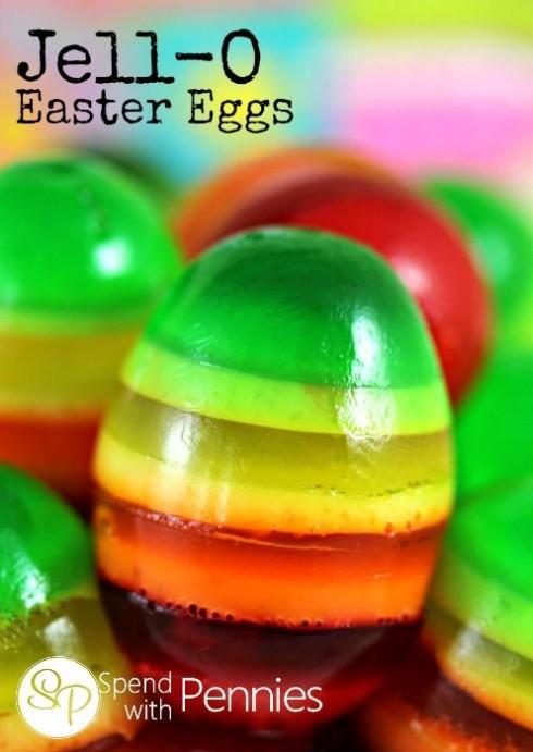 Jello Easter Eggs