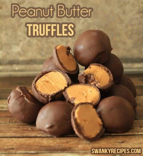 Peanut Butter Truffles Ziplist