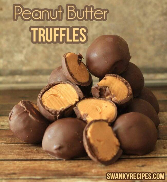 Peanut Butter Truffles - Swanky Recipes