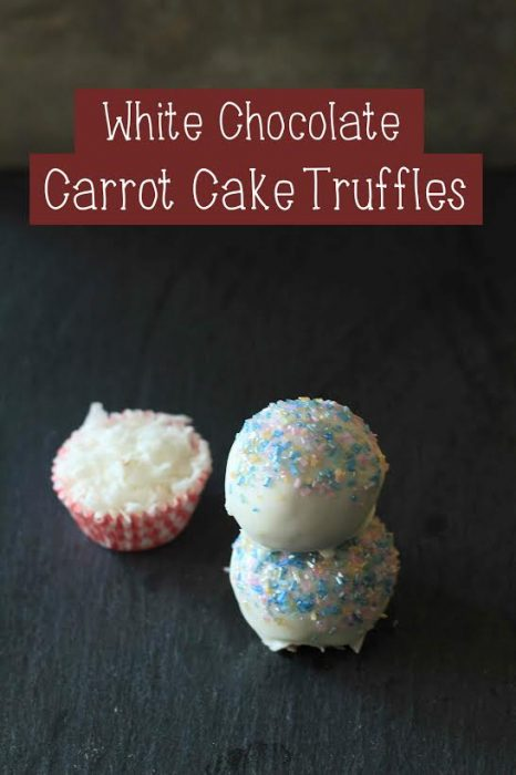 White Chocolate Carrot Cake Truffles 1