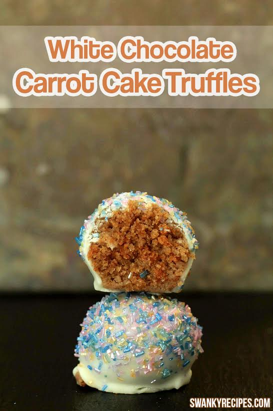 White Chocolate Carrot Cake Truffles - Swanky Recipes