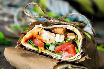 Mesquite Chicken Wrap
