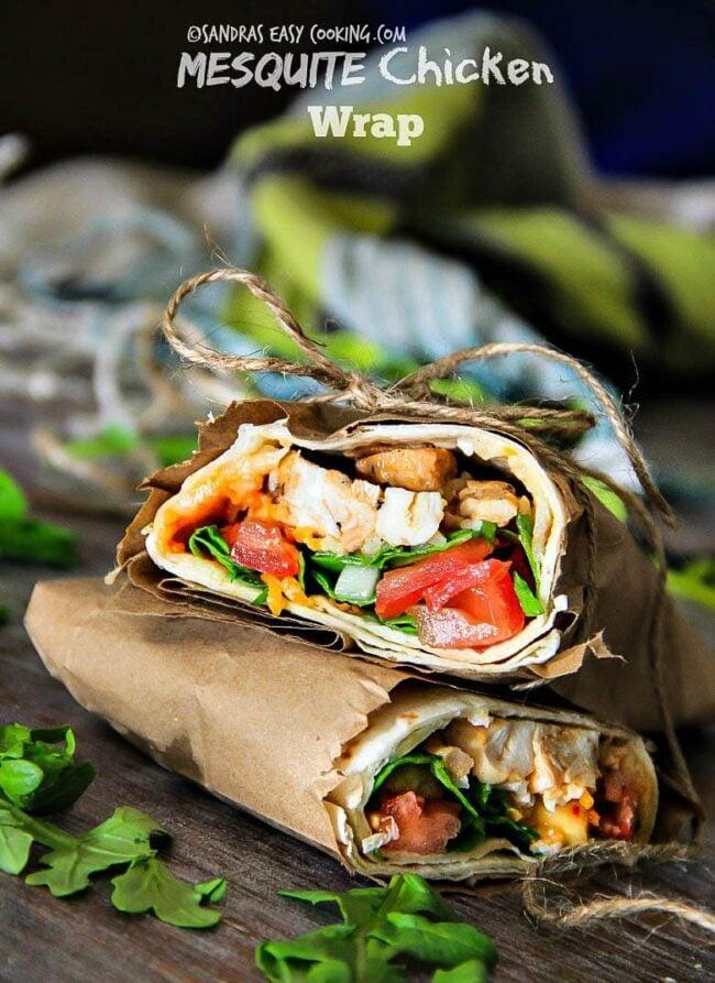 Healthy Chicken Wrap Swanky Recipes