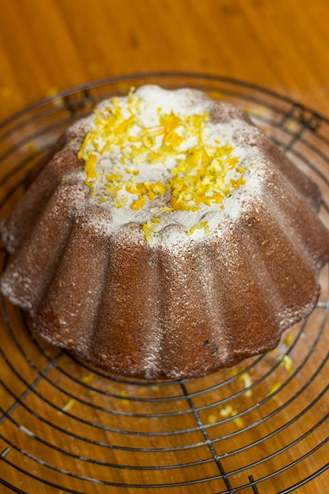 Lemon Poppy Seed Cake All