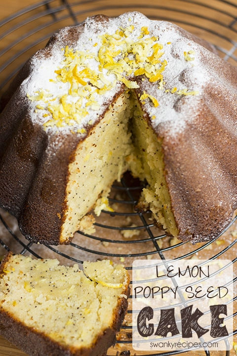 Lemon Poppy Seed Cake Swanky Recipes
