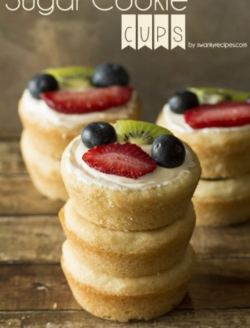 Sugar Cookie Cups Plus A Free Gift