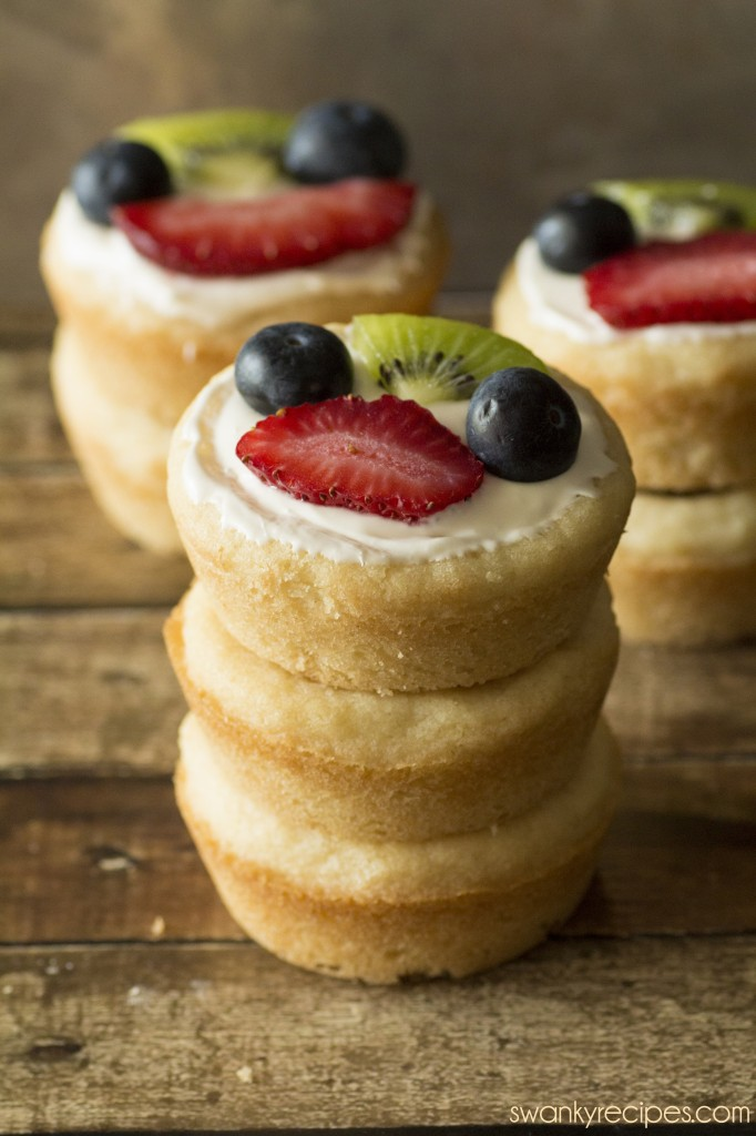 Sugar Cookie Berry Cups Recipe — Dishmaps