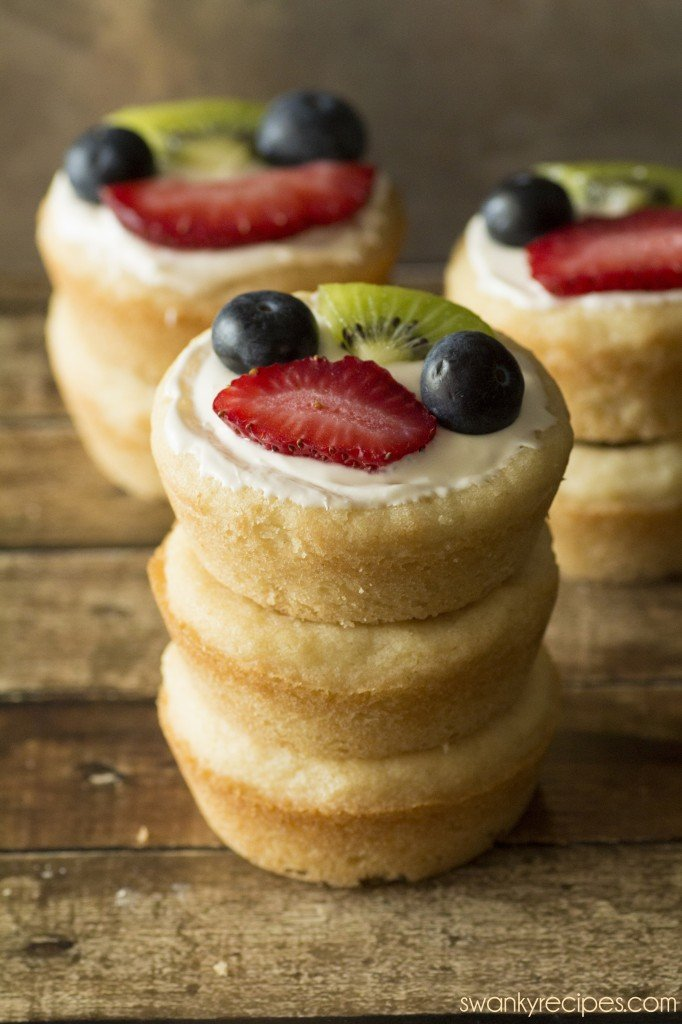 Sugar cookie fruit cup recipe