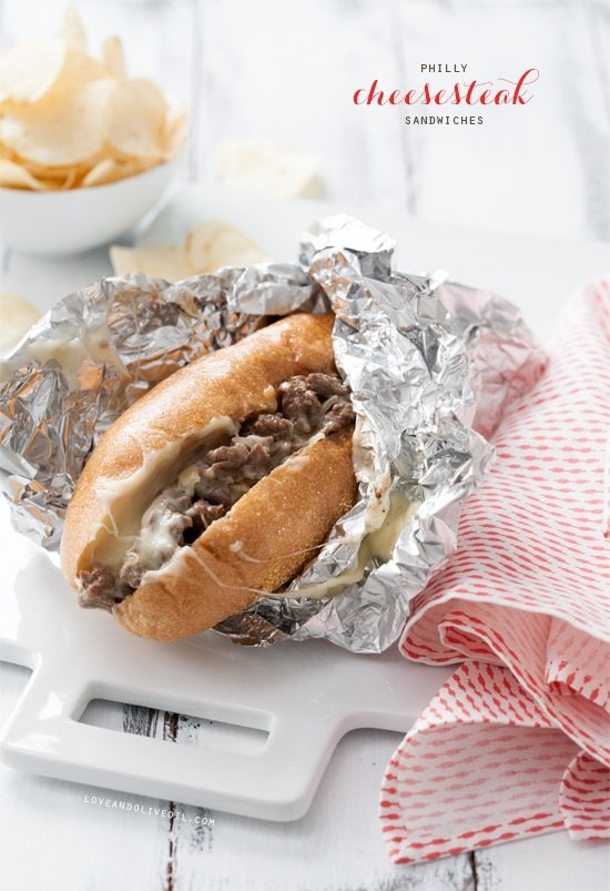 Philly Cheesesteak Sandwich