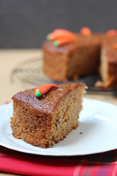 Cinnamon Carrot Cake Recipe