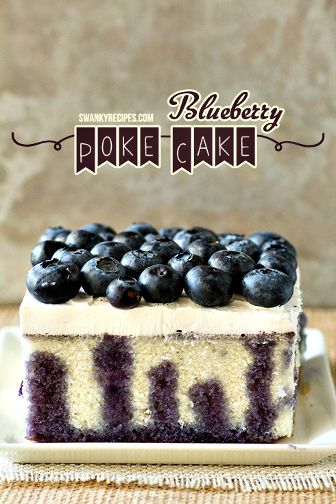 Blueberry Poke Cake Recipe