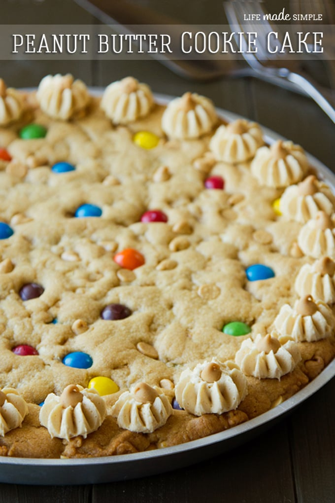 The Ultimate Peanut Butter Cookie Pie