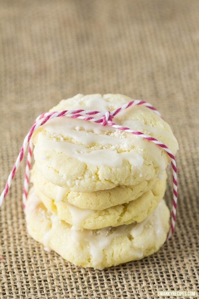 Glazed Lemon Sugar Cookies - Swanky Recipes
