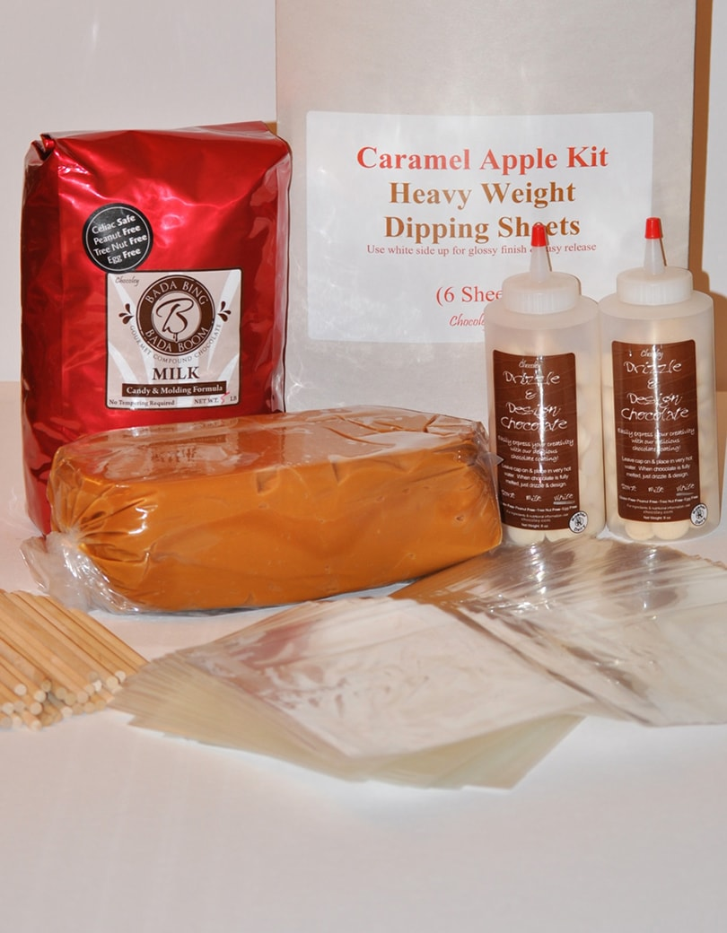 Gourmet Chocolate & Caramel Apple Kit