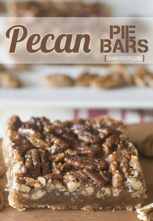 Pecan Pie Bars - Swanky Recipes