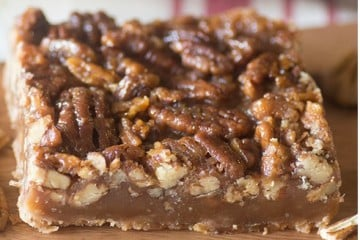 pecan pie bars cover photo