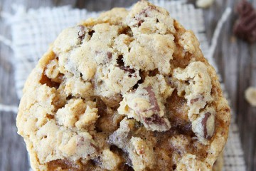 Chocolate Chip Crunch Oatmeal Cookies