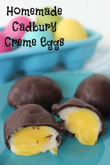 Homemade Cadbury Creme Eggs – Wheel n Deal Mama