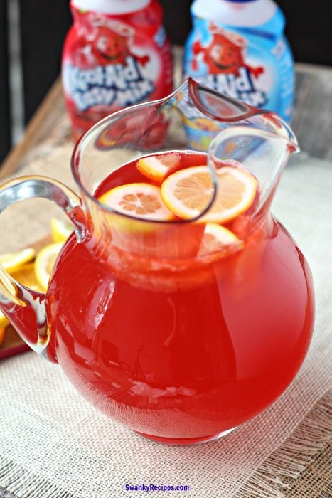 Tropical Cherry Party Punch - Swanky Recipes