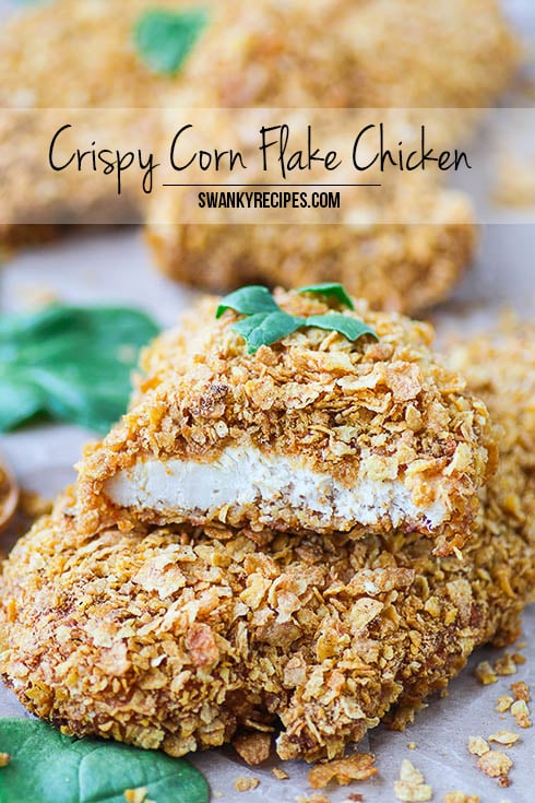 Crispy Corn Flake Chicken