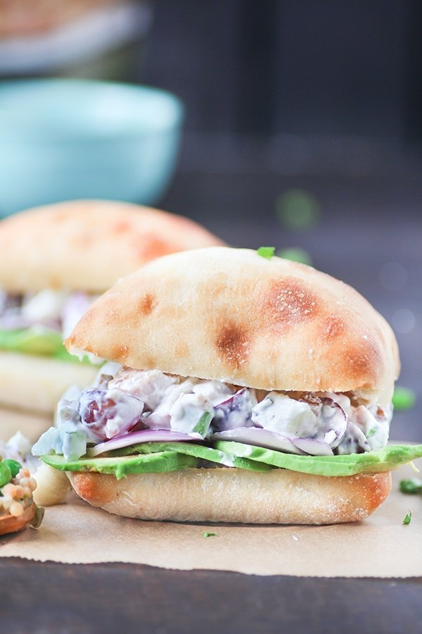 Lightened Up Chicken Salad Sandwich
