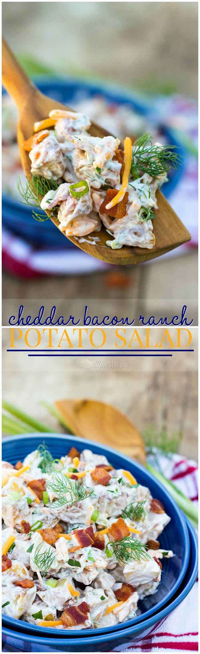 Ranch Cheddar Bacon Potato Salad