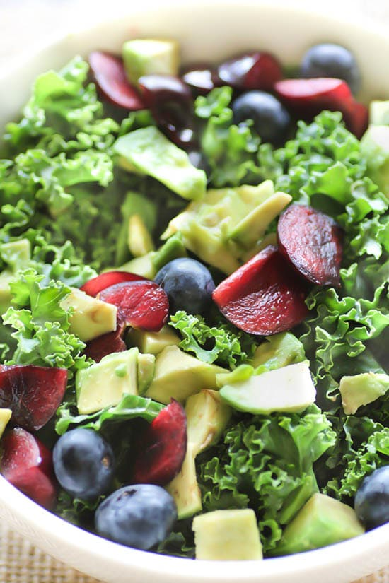 Avocado Cherry Salad