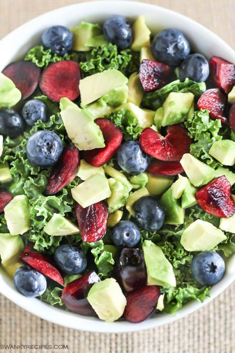 Cherry Avocado Salad