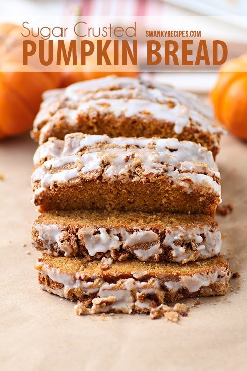 Iced Pumpkin Bread
