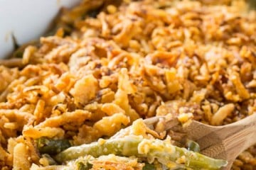 Cheesy Green Bean Casserole