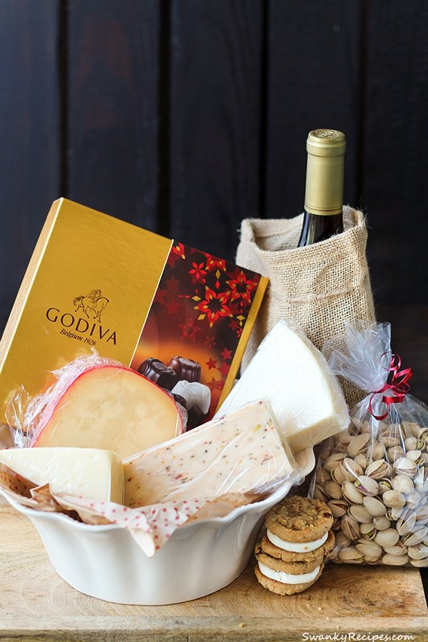 Holiday Cheese Basket