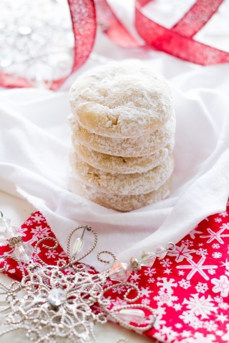 Lemon Snowdrop Cookies