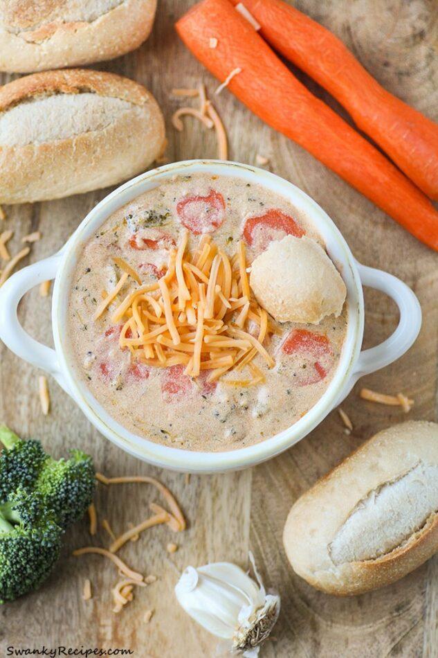 Panera Broccoli Cheddar Soup Copycat