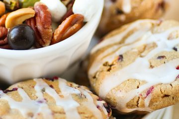 White Chocolate Chunk Cranberry Cashew Cookies